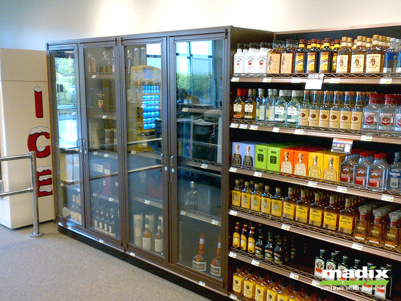 Liquor Security Cabinet Liquor Security Cabinet