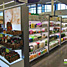 Vesta Aisle and Wall Fixturea as a Cosmetics Display