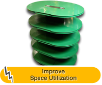 Improve Space Utilization