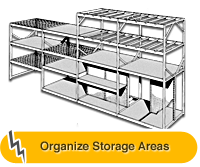 Organize Storage Areas