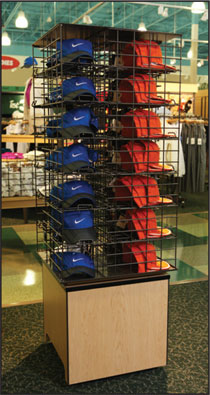Hat Spinner Display