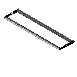 LUSF-(NW)(ND)-Lighted Upper Shelf Frame for Lumishelf™ Surface
