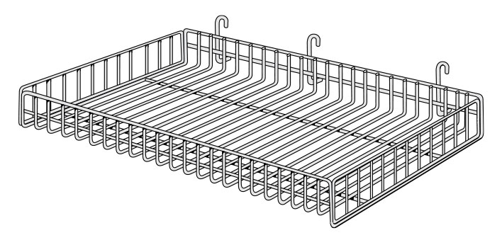 CBWG-(NW)(ND)-Classic Basket for Wire Grid