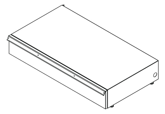 UFBD-(NW)(ND)(NH)-Vesta® Fixture Base Drawer
