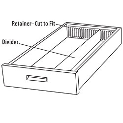 Drawer Divider Kit