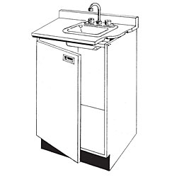 Pharmacy Wood Sink Unit